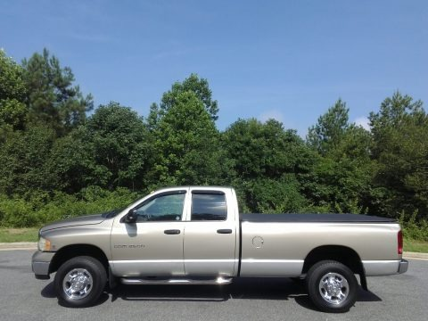 Light Almond Pearl Metallic 2003 Dodge Ram 2500 SLT Quad Cab 4x4