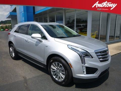 Radiant Silver Metallic 2018 Cadillac XT5 Luxury AWD
