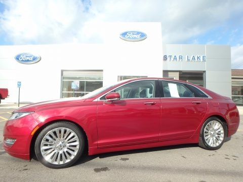 Ruby Red 2013 Lincoln MKZ 2.0L EcoBoost AWD
