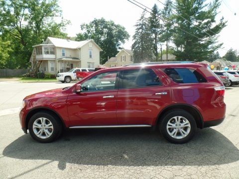 Deep Cherry Red Crystal Pearl 2013 Dodge Durango Crew AWD