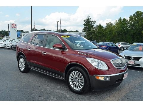 Red Jewel Tintcoat 2011 Buick Enclave CXL AWD