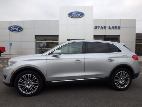 Ingot Silver 2017 Lincoln MKX Reserve AWD