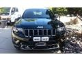 Jeep Grand Cherokee Overland 4x4 Black Forest Green Pearl photo #4
