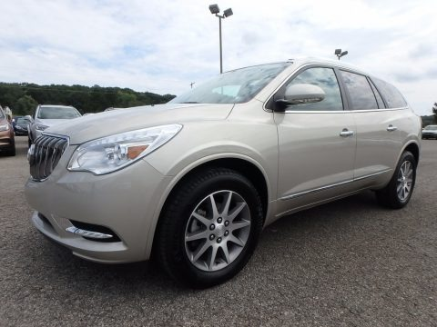 Sparkling Silver Metallic 2017 Buick Enclave Leather AWD