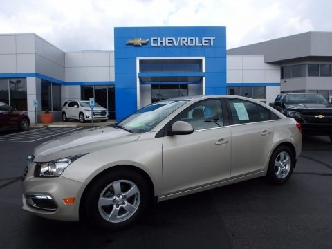 Champagne Silver Metallic 2016 Chevrolet Cruze Limited LT
