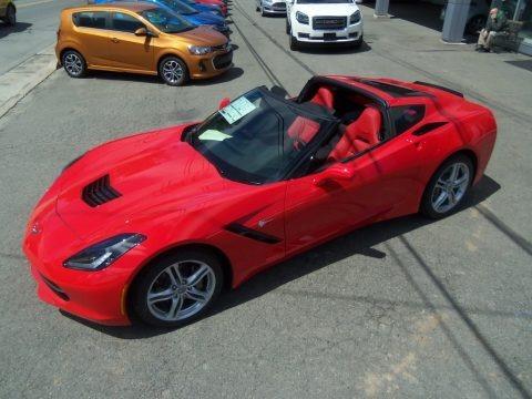 Torch Red 2017 Chevrolet Corvette Stingray Coupe