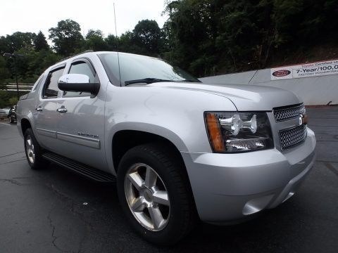 Silver Ice Metallic 2012 Chevrolet Avalanche LS 4x4