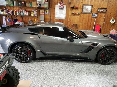 Blade Silver Metallic 2016 Chevrolet Corvette Z06 Coupe