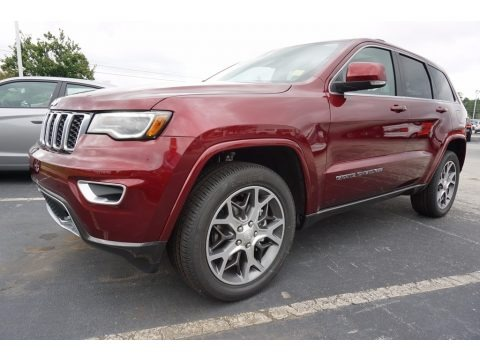 Velvet Red Pearl 2018 Jeep Grand Cherokee Limited