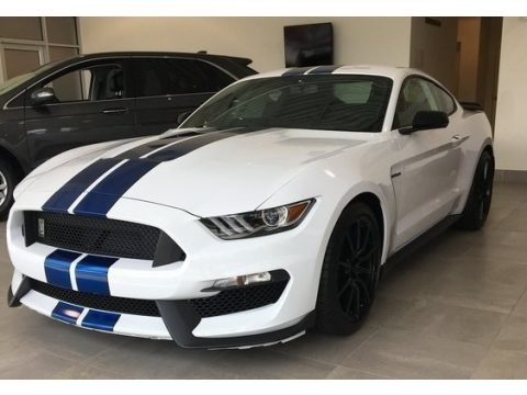 Oxford White 2017 Ford Mustang Shelby GT350 Coupe