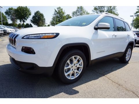 Bright White 2018 Jeep Cherokee Latitude Plus