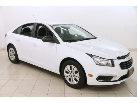 Summit White 2016 Chevrolet Cruze Limited LS