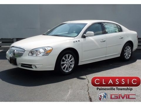 White Opal 2011 Buick Lucerne CX
