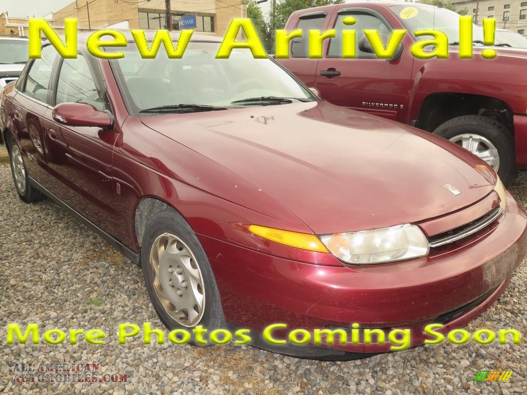 2001 L Series L200 Sedan - Dark Red / Gray photo #1