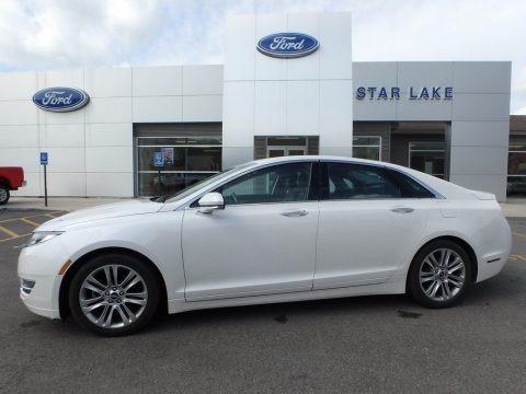 White Platinum 2014 Lincoln MKZ FWD