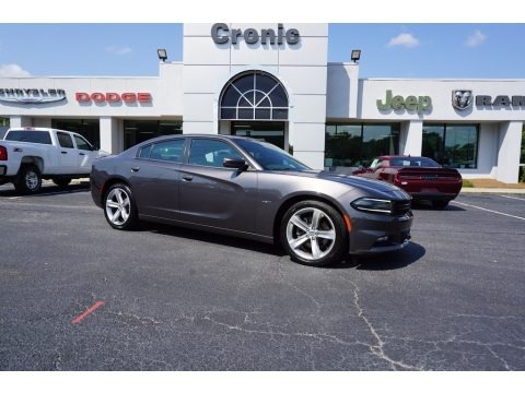 Granite Crystal Metallic 2016 Dodge Charger R/T