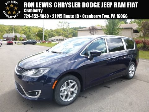 Jazz Blue Pearl 2018 Chrysler Pacifica Touring Plus