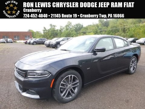 Maximum Steel Metallic 2018 Dodge Charger GT AWD