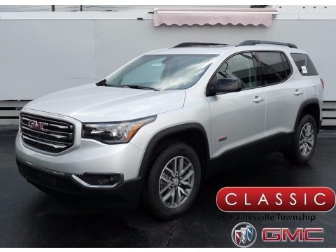 Quicksilver Metallic 2018 GMC Acadia All Terrain SLE AWD