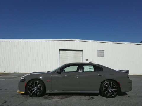 Destroyer Gray 2018 Dodge Charger R/T Scat Pack