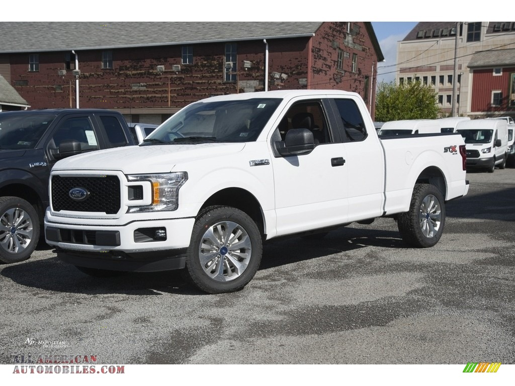 2018 ford f150 stx supercab 4x4 in oxford white a43019 all american automobiles buy. Black Bedroom Furniture Sets. Home Design Ideas