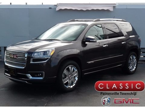 Iridium Metallic 2015 GMC Acadia Denali AWD