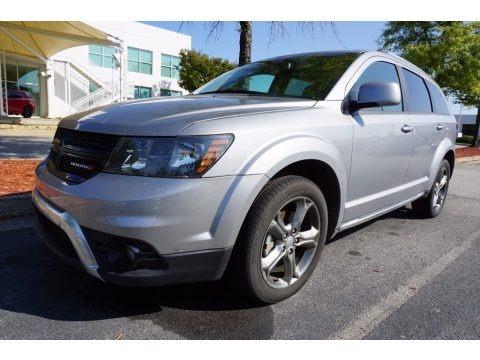 Billet Silver Metallic 2016 Dodge Journey Crossroad Plus