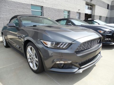 Magnetic 2017 Ford Mustang EcoBoost Premium Convertible