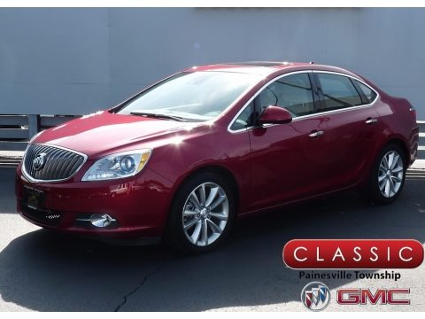 Crystal Red Tintcoat 2014 Buick Verano Leather