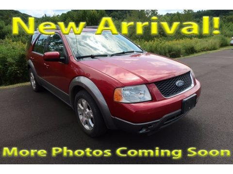 Redfire Metallic 2005 Ford Freestyle SEL AWD