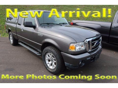 Dark Shadow Grey Metallic 2011 Ford Ranger XLT SuperCab 4x4