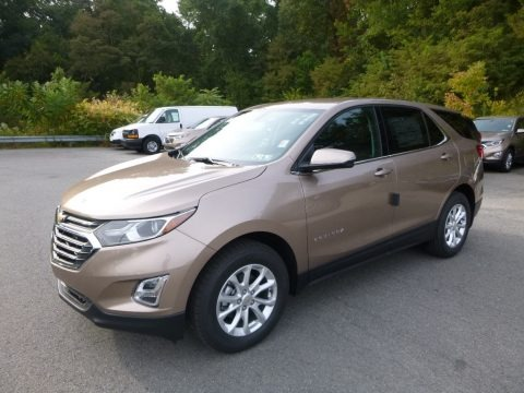 Sandy Ridge Metallic 2018 Chevrolet Equinox LT