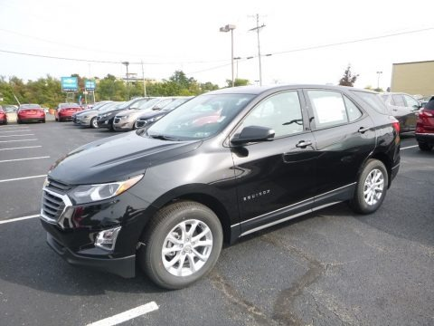 Mosaic Black Metallic 2018 Chevrolet Equinox LS AWD