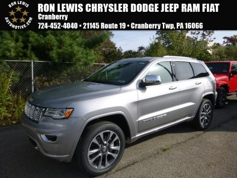 2018 jeep grand cherokee overland 4x4 in bright white for sale 177485 all american. Black Bedroom Furniture Sets. Home Design Ideas
