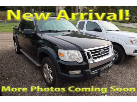 Black 2007 Ford Explorer Sport Trac XLT
