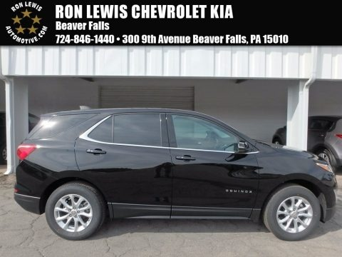 Mosaic Black Metallic 2018 Chevrolet Equinox LT AWD