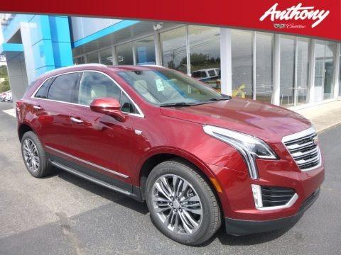 Red Passion Tintcoat 2018 Cadillac XT5 Premium Luxury AWD
