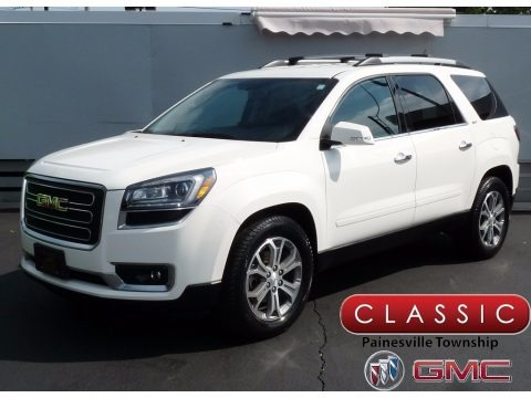 Summit White 2015 GMC Acadia SLT AWD