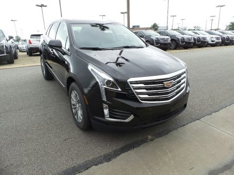 Stellar Black Metallic 2017 Cadillac XT5 Luxury AWD