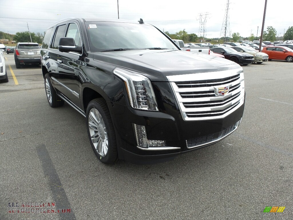 2017 Escalade Platinum 4WD - Black Raven / Jet Black photo #1