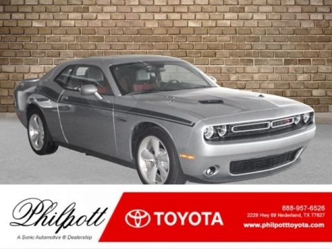 Granite Crystal Metallic 2016 Dodge Challenger R/T Plus