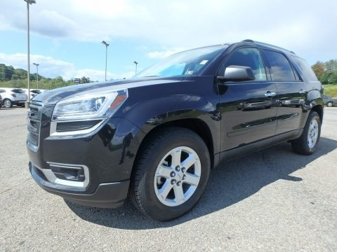 Carbon Black Metallic 2014 GMC Acadia SLE AWD