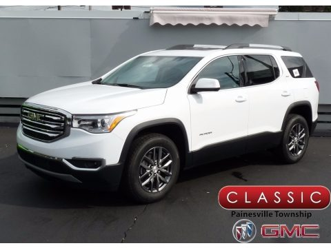 Summit White 2018 GMC Acadia SLT AWD