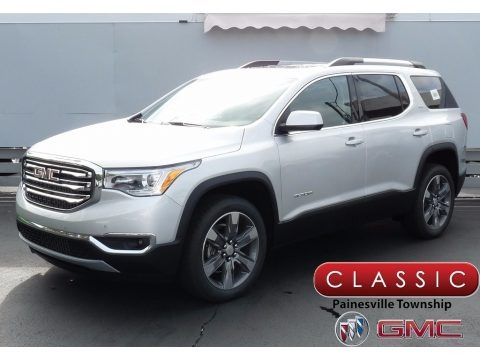 Quicksilver Metallic 2018 GMC Acadia SLT AWD