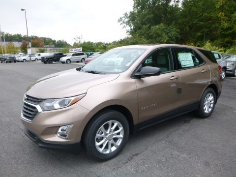 Sandy Ridge Metallic 2018 Chevrolet Equinox LS AWD