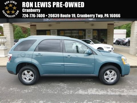 Golden Teal Metallic 2008 Chevrolet Equinox LT AWD