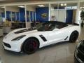 Chevrolet Corvette Z06 Convertible Arctic White photo #2