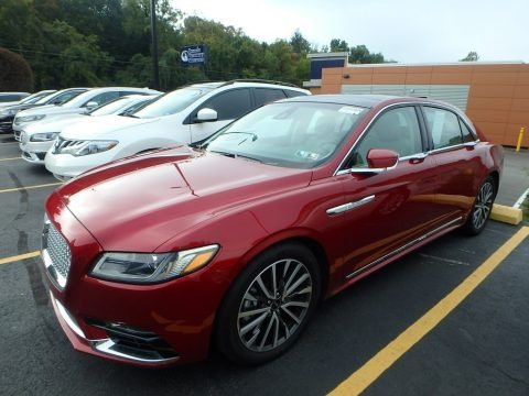 Ruby Red 2017 Lincoln Continental Select AWD