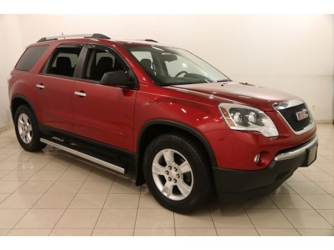 Crystal Red Tintcoat 2012 GMC Acadia SL