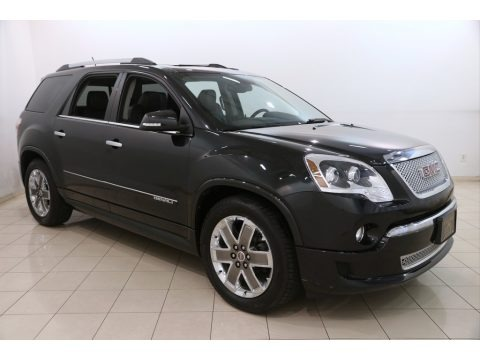 Carbon Black Metallic 2011 GMC Acadia Denali AWD